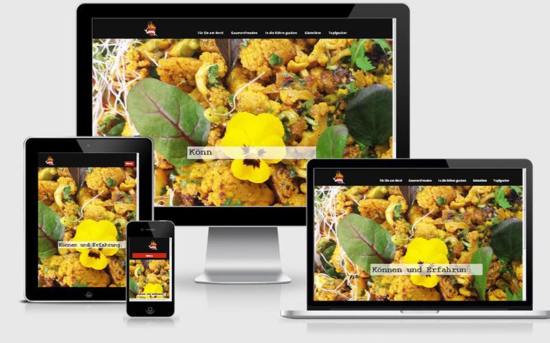 Neue Webseite für die Speisenveredler – WordPress, Content & SEO (Mai 2015)
