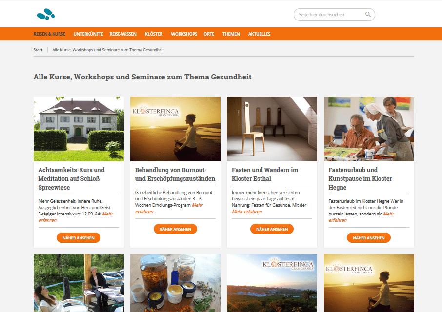 Spiritueller Tourismus Portal