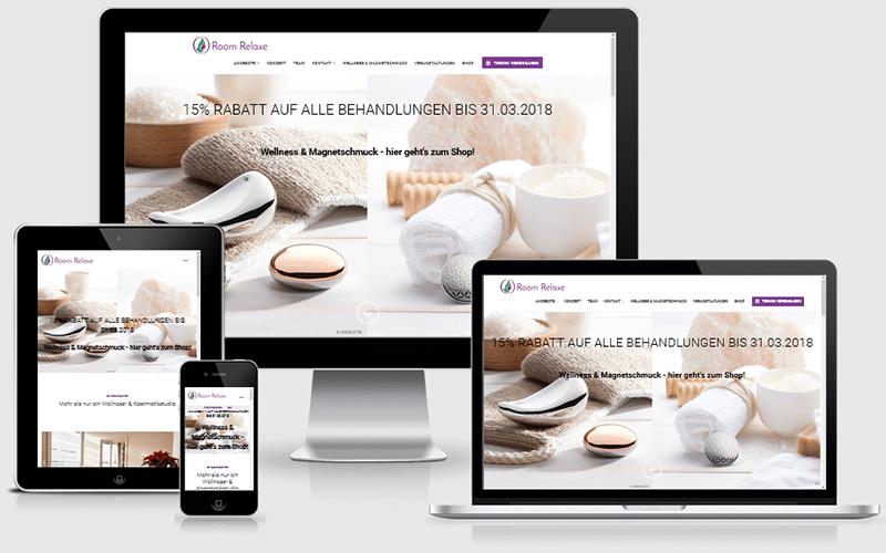 Unternehmensberatung und Webseite für ein Wellness-Studio (Nov 2016)