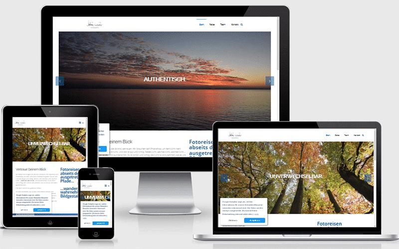 Webseite für blickwinkel.reisen