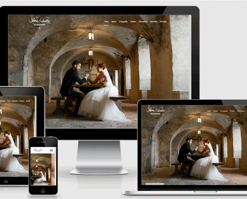 Webseite für die Fotografin Sabine Kunzer