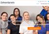 Webseite für eine Zahnarztpraxis