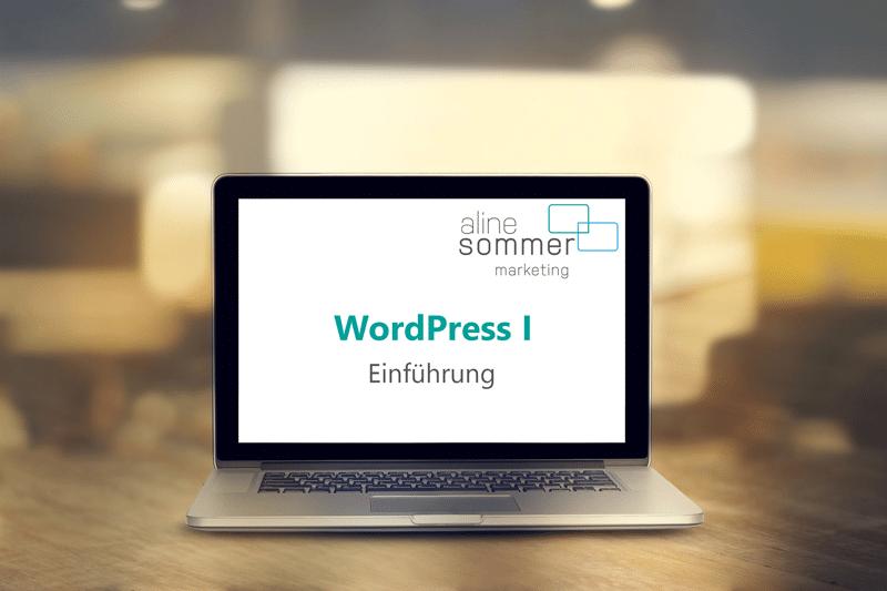 WordPress Kurs Bodensee